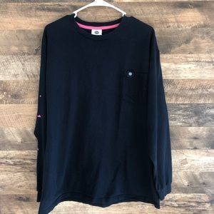 XL Simply Southern Navy Blue Long Sleeve Tee